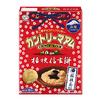 大人気の『カントリーマアム(桔梗信玄餅)』のパッケージがリニューアル♪ 黒みつときな粉の味わいにホワイトチョコチップがマッチ!