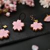 和菓子処 きゅーぽっと。から春の便り。華やかで上品な『桜シュガークッキー』のアクセサリーがQ-pot.に登場!