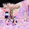 """愛らしいお花見ペンギンとともに""""宴""""を楽しむ♡ 「海の世界」×「デジタルアートの桜」が融合した『NAKED SAKURA AQUARIUM』マクセル アクアパーク品川にて開催!!"""