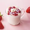 """""""練乳かけいちご""""をイメージした甘酸っぱさ&ミルキーなコク♡ タリーズに『いちごミルク』『いちごミルクカフェラテ』が新発売!"""