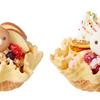 リラックマフェイスのマカロンを、フルーツいっぱいのアイスにトッピング♡ COLD STONE CREAMERY × リラックマ コラボメニューが発売!