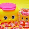 可愛いピンク帽子のフエキくん♡ 福岡県限定「あまおう果汁入りいちごのど飴」「明太子ふりかけ」が新発売!