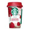 華やかなストロベリーの香りに、コーヒーとクリームが溶け合う♡『スターバックス® ストロベリークリームラテ』期間限定で発売!