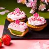 華やかピンクのいちごホイップ&宇治抹茶の春らしい組み合わせ♡ PABLOmini『いちごと宇治抹茶』期間限定で発売!