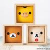 リラックマたちが箱の中から覗き込んでいるみたい♡ 伝統生きるハンドクラフトアイテム「押絵箱板(オシエハコイタ)」ヒキダシストアに登場!