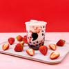 果肉たっぷりの苺&濃厚ミルクにもちもちタピオカをプラス☆ コンマティーから「ベリーストロベリー」シリーズが新発売!