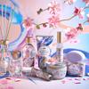 クリア シトラス グリーンの香りと共に美しい風が吹く♡「SABON」とミレニアル世代の書道家「万美」がコラボした『TOKYO CELEBRATION COLLECTION』が新発売