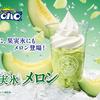ハロハロの果実氷シリーズからメロンが初登場☆『ハロハロ 果実氷メロン』ミニストップにて発売