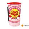 「チュッパチャプス」がドリンクに!パッケージもレトロ可愛い『チュッパチャプス ストロベリークリーム』新発売