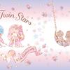 ティアラを着けたキキ&ララが、お月さまの上で寄り添う♡『リトルツインスターズ』45周年限定コラボジュエリーの新作が発売!
