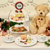 """Happyメリー""""クマ""""スマス♡ Q-pot CAFE. にクマちゃん好きにはたまらないクリスマス限定メニューが登場!"""