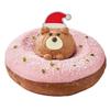 サンタ帽子姿のベアがチョコ×ストロベリーのドーナツから飛び出す!冬限定『クリスピー・クリーム・プレミアム』ジェイアール名古屋タカシマヤ店限定で発売♡