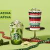 美しいグリーンのマーブル模様にご注目♪ スターバックスからホリデー限定『抹茶×抹茶 ホワイト チョコレート フラペチーノ®』新発売!