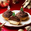 2種類のハイカカオチョコレートを使用♡雪だるまとクリスマスツリーのピックを飾りつけた『PABLO mini(パブロミニ) ハイカカオモンブラン』期間限定で発売