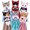 猫が主役の童話の世界♪「アンティークな洋書風ポーチ」と「猫のドレスタオル」がフェリシモ猫部™から新登場