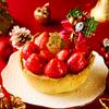 20粒以上のいちごを山のように盛り付けた『いちごの贅沢クリスマスチーズタルト』も♡ PABLOから「クリスマスチーズタルト」3種が5日間限定で発売!