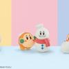 カービィとワドルディが楽しく雪あそび♡「星のカービィ」がふわふわ起毛素材のフィギュア 『Fluffy Puffy(フラッフィパフィ)』に初登場!