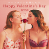 バラが舞い散る可憐なレースに、大人っぽいチューリップ柄も♡ PEACH JOHNからバレンタインコレクションが発売