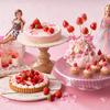 「Barbie」コラボビュッフェ『ストロベリーホリック~Barbie in Paris~』が苺&桜メニューを加えて追加開催!