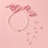 スワロフスキー&ピンクのリボンを飾った、優美なパールアクセサリー♡「リトルレディ」をコンセプトにしたQ-pot.ルクア イーレ店に、限定アイテムが登場!