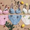 PEACH JOHNからチェリー、ブルーベリー、レモンのデザインを盛り込んだ『果実のブラ』がデビュー!