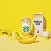 バナナチップス&アーモンドミルクホイップをトッピング♡ スターバックスから『バナナンアーモンドミルク フラペチーノ®』新発売