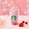 甘酸っぱいストロベリーの風味がさらに楽しめる♡ スターバックスから『さくら咲いた ベリー フラペチーノ®』発売!