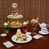 レトロでクラシックな 『喫茶 キューポット』カフェメニューが新発売!プリン風カスタードムースケーキに、ノスタルジックなクリームソーダも♪