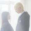 ラウールの金髪が、朝のまぶしい光に照らされてキラキラ輝く☆ 映画『ハニーレモンソーダ』メイキング映像が解禁!内気なヒロインに「おはよう」をレクチャー!?