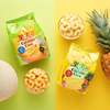 キャラメルコーン50周年記念!濃厚な果実の味わいが楽しめる『果実のキャラメルコーン』メロン味&パイン味が期間限定で登場!