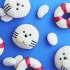 アザラシ&浮き輪のドーナツで夏気分を楽しもう♡ クリスピー・クリーム・ドーナツから『アザラシ カスタード』『スイカ スイム リング』 期間限定で発売!