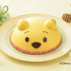 プーさんをイメージした黄色いはちみつ入りクリーム♡ 銀座コージーコーナーに『<くまのプーさん>デコレーションケーキ』が登場!
