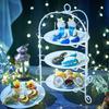 スイーツで堪能する満天の星空♡「紺碧の空に星のきらめき」アフタヌーンティーがアプローズスクエア 東京迎賓館に限定登場!