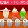 サンリオのレトロカワイイ喫茶風デザインシリーズが新登場!「SANRIOCAFE池袋店」にはカラフルなクリームソーダなどのコラボメニューもお目見え♪