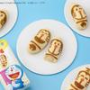 """『ドラえもん 東京ばな奈』がファミマ&ローソンにて発売!国産米粉を使用したもっちりふわふわスポンジケーキに、""""バナナカスタードクリーム""""がとろ~り♡"""