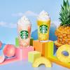 スターバックス初のパイナップルテイスト『GO パイナップル フラペチーノ®』&真夏の定番『GO ピーチ フラペチーノ®』が期間限定で発売!