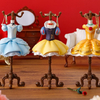 白雪姫、ベル、シンデレラのドレスがジュエリースタンドに♡『Capsule トルソー ディズニー』全国のカプセル自販機にて発売!