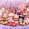 テーマは、マイメロディとクロミが楽しむ「コスメパーティ」♡『スイーツコレクション ~ハローキティ・マイメロディ&クロミのコスメパーティ~』京王プラザホテルにて開催!