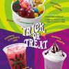 ポップコーン、クッキー、グミ、キャンディなど、みんなが大好きなお菓子をたくさんトッピング♪ フローズンヨーグルトショップ『ピンクベリー』にハロウィン限定メニューが登場!