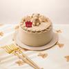 """gelato piqueの""""ピケベア""""が今年も最⾼のクリスマスをお届け♡ ブラウンベアの世界をワントーンで表現した「クリスマスケーキ」が全国のセブン-イレブンに登場!"""