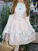 Enchanted〜お菓子の魔法にかけられて〜柄 gelato ジャンパースカートの画像
