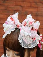 Lady Victorian Rose Jewelry〜想いは薔薇の花びらの上に〜柄カチューシャの画像