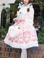 Le Bouquet Éternel 柄ジャンパースカートの画像