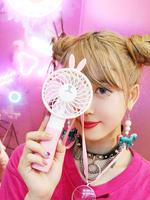ハンディー扇風機の画像
