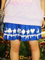 メルティートランプ プリーツスカートの画像