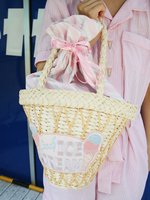 CANDY ICE CREAM BASKET BAGの画像