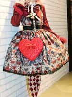 アレルキナーダジャンパースカートの画像