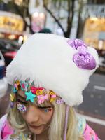 ファー帽子の画像