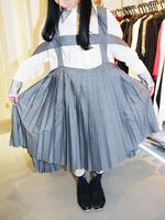 造形プリーツスカートの画像