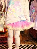 チュールパニエ スカートの画像